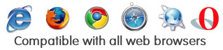 compatible with all browsers