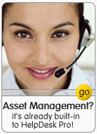 asset management, already built-in!